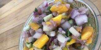 mango daikon salsa