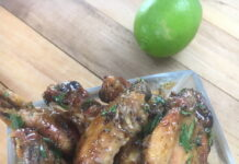 ginger and lime chicken wings